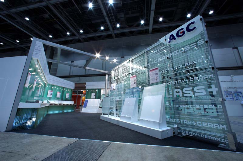 AGCブース | PV-EXPO 2009 その1