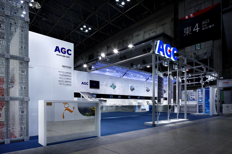AGCブース | PV-EXPO 2011 その1